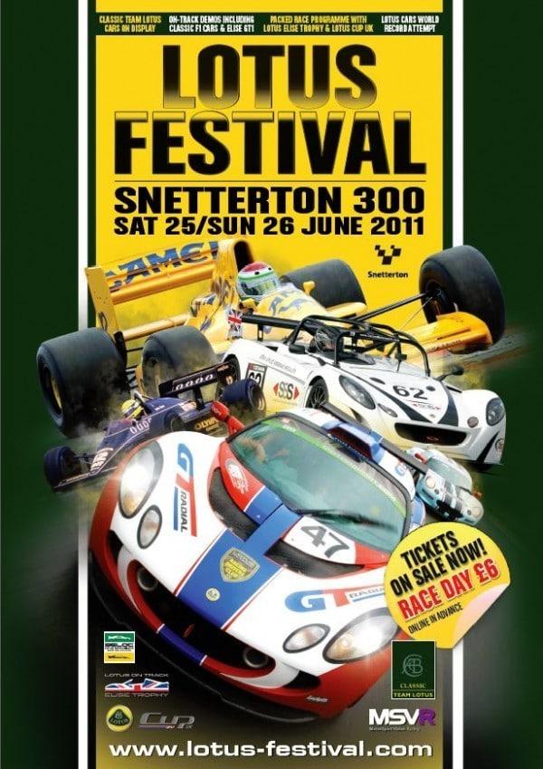 Lotus Festival 25-26 JUNE Snetterton! Lotus-Festival