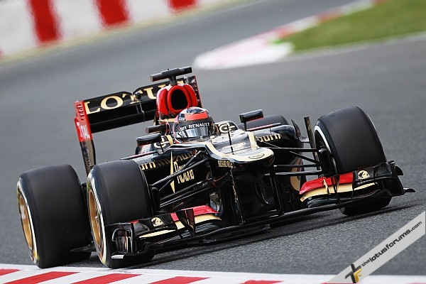Another podium for Kimi in Spain