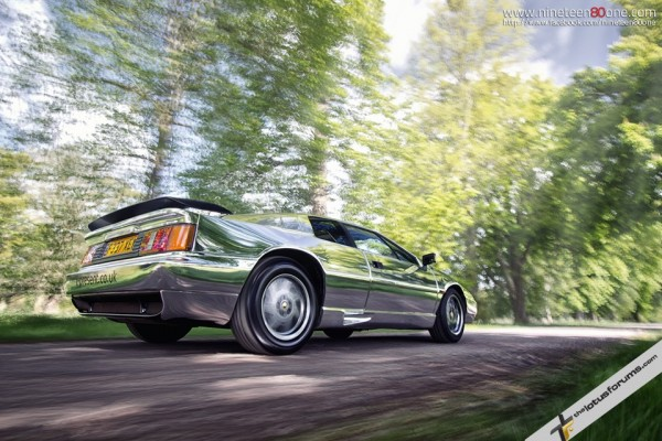 Chromed… The World's shiniest Lotus Esprit