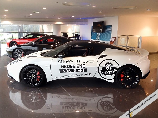 Lotus COO Aslam Farikullah confirmed for Snows Lotus Hedge End opening