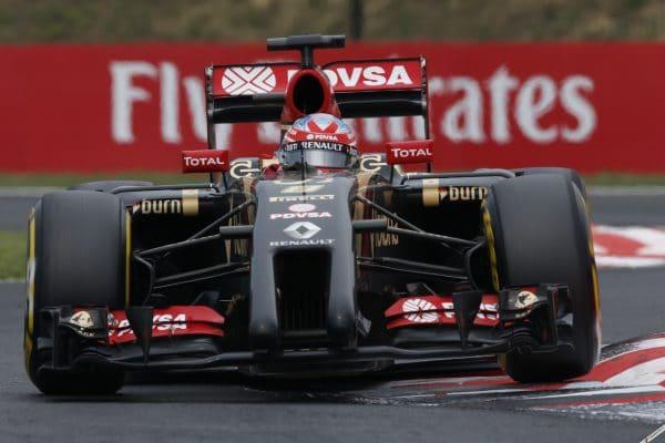 13th for Maldonado in Hungarian GP