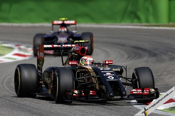 14th and 16th for Lotus F1 Team at Monza