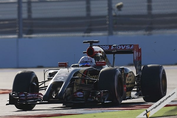 Lotus F1 Team 17th & 18th in Russian GP