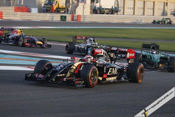 13th for Grosjean in Abu Dhabi GP
