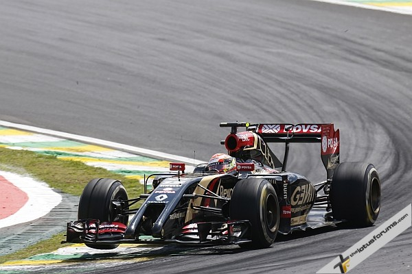 Difficult Brazilian GP for Lotus F1