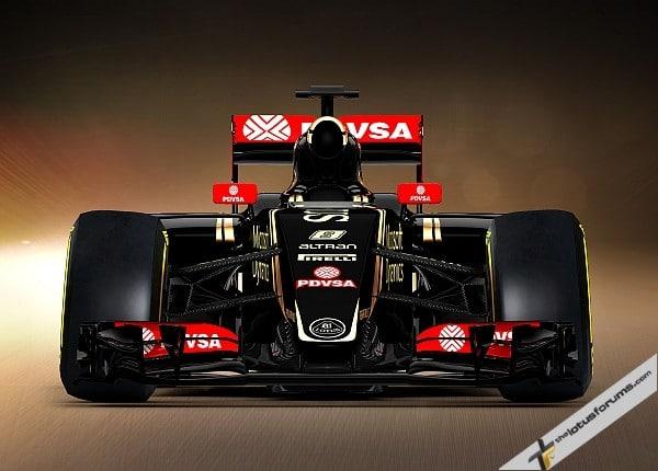 Lotus F1 Team reveal the 2015 E23