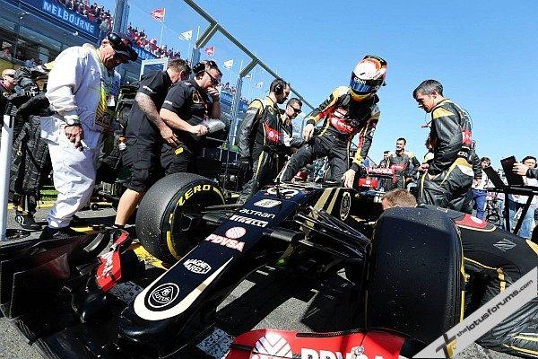 Poor start for Lotus F1 Team in Australian GP