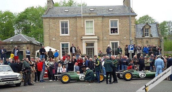 Jim Clark Weekend 2013 museum