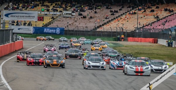 Victory for Rasse brothers in Lotus Cup Europe opener