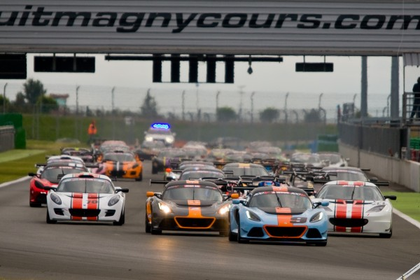 Double joy for Lourenço and Rasse in Magny-Cours Lotus Cup Europe round