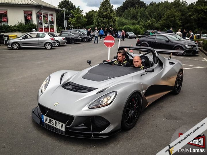 3-Eleven Prototype out testing at the Nurburgring