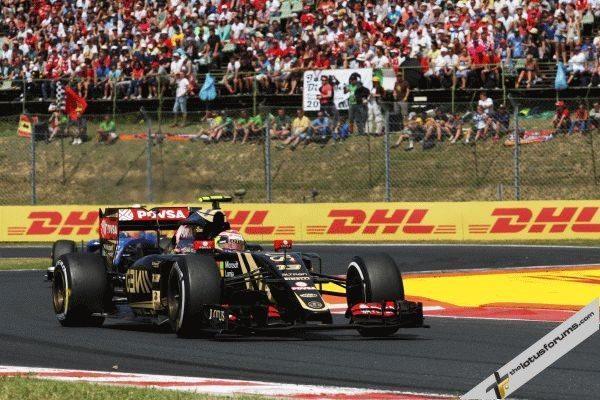 Grosjean back on the podium in Spa Grand Prix