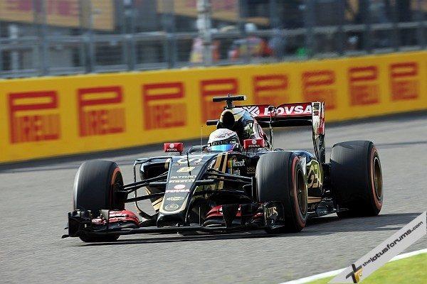 Romain Grosjean (FRA) Lotus F1 E23. Japanese Grand Prix, Sunday 27th September 2015. Suzuka, Japan.