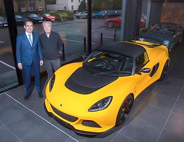 Hexagon opens new Lotus showroom at flagship Finchley site