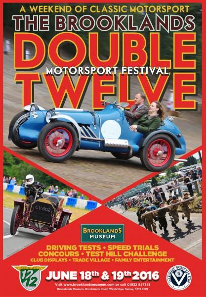 The Brooklands Double Twelve Motorsport Festival