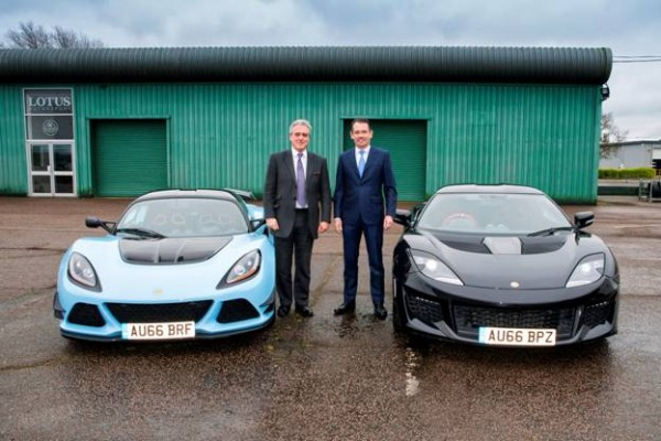 Lotus welcomes Mark Garnier MP, Parliamentary Under Secretary of State for International Trade