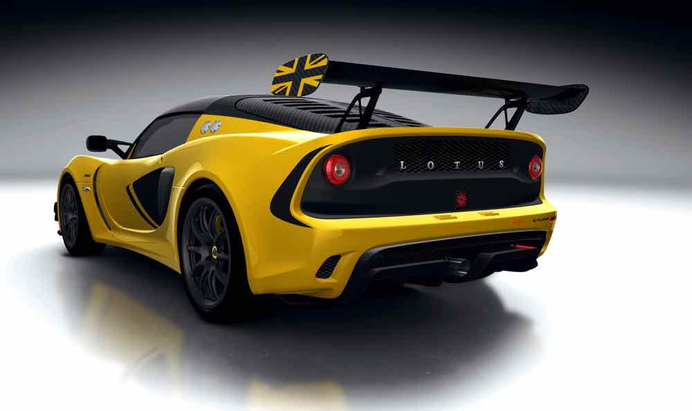 Lotus Exige Race 380 – first class in competition