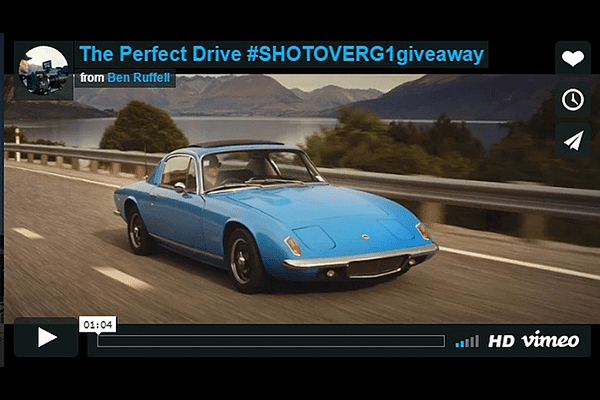 """Vote for """"The Perfect Drive"""", the best Lotus video you'll watch today!"""